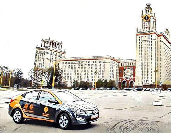 Каршеринг в городе Москва
