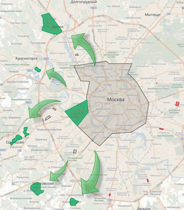 Зеленая зона Юдрайв