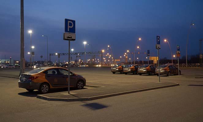 Правильная парковка