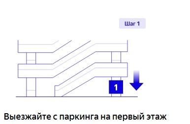 Выезжаем на первый этаж