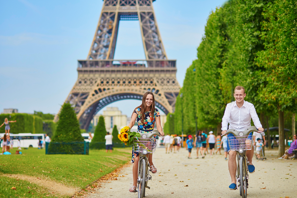 Велошеринг в Париже
