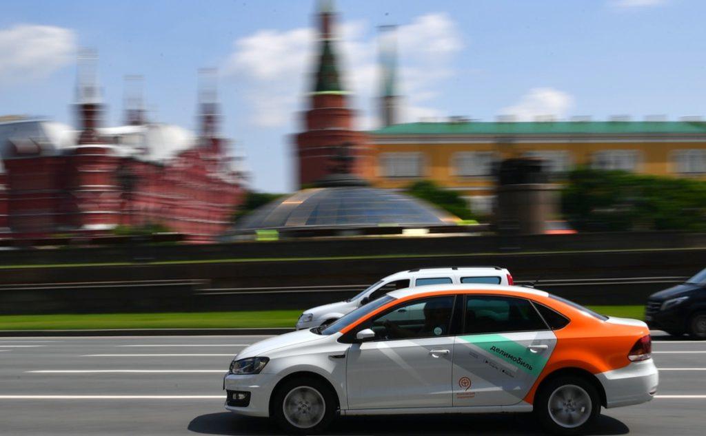 каршеринг на улицах москвы